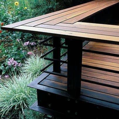 Modern Deck Cool Backyard Ideas