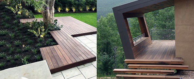 Top 50 Best Modern Deck Ideas Contemporary Backyard Designs