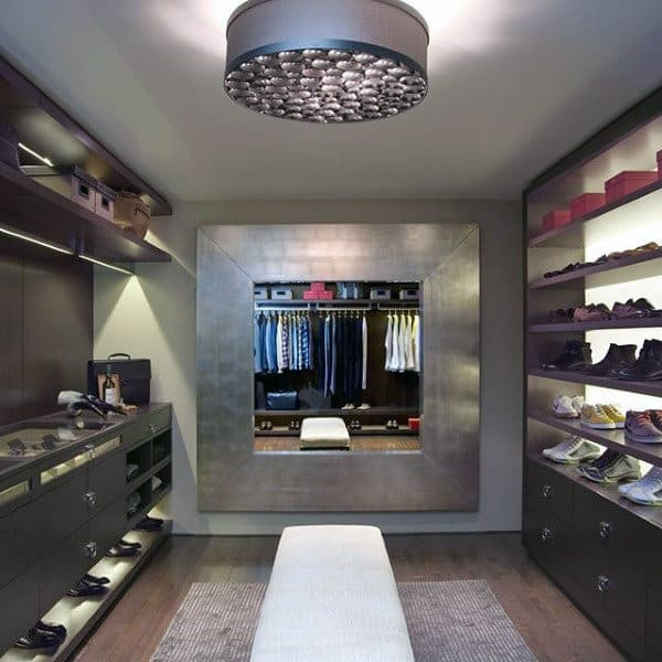 Modern Decor Closet Design For Guys