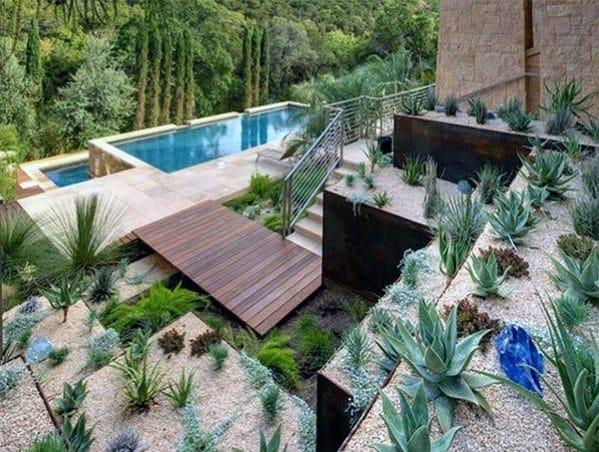 Modern Desert Landscape Ideas For Backyards