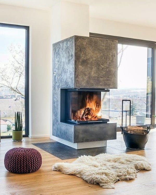 Fireplace Hearth Ideas: Top 70 Best Modern Fireplace Design Ideas