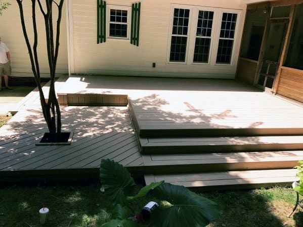 Modern Design Ideas Deck Steps
