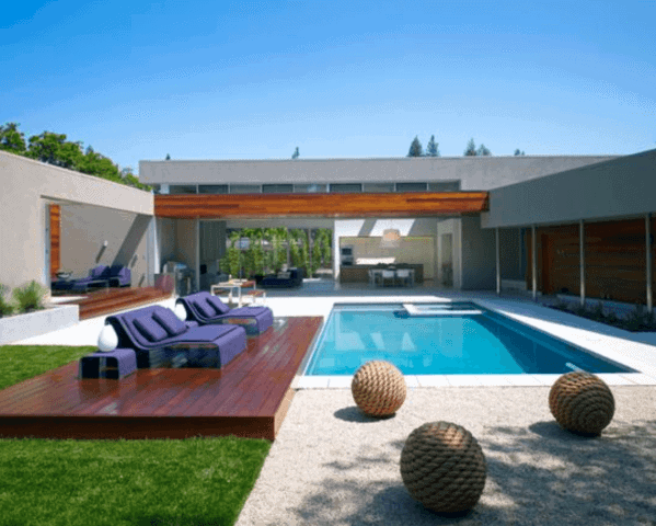 Modern Designs For Floating Deck Pool