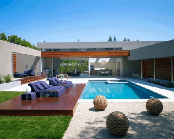 Modern Designs For Floating Deck Pool