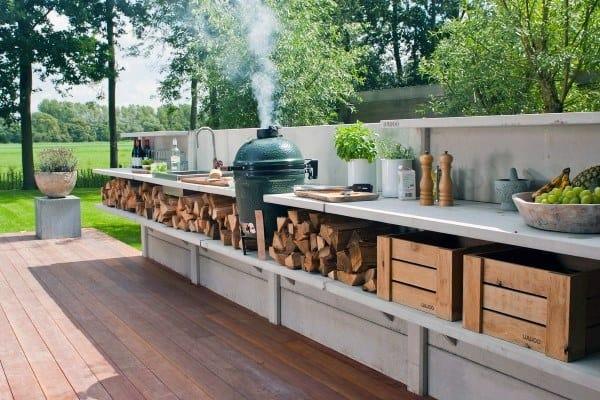 Modern Designs Outdoor Kitchen Ideas