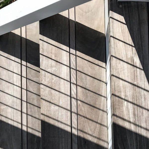 Modern Detail Deck Steps Backyard Ideas