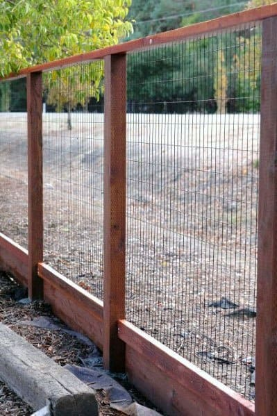 Modern Dog Fence Ideas Wood And Metal