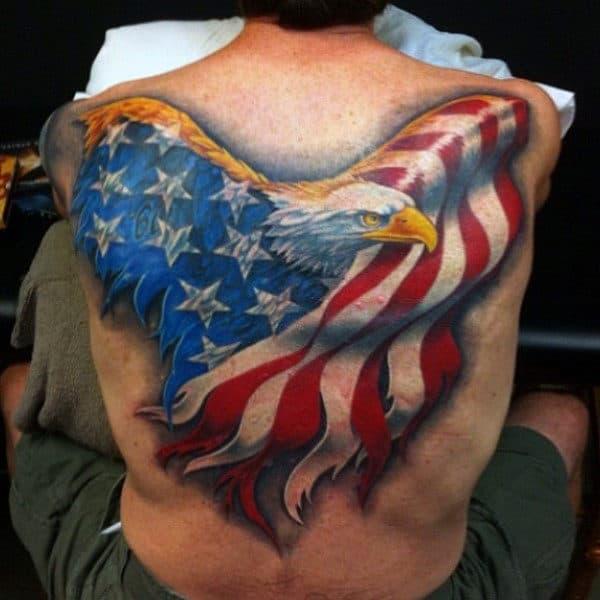 72edd92d212d6 90 Patriotic Tattoos For Men - Nationalistic Pride Design Ideas