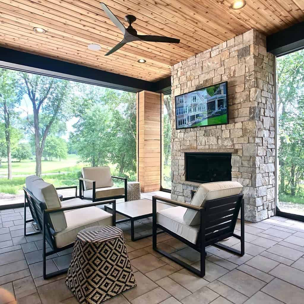 modern enclosed patio ideas raiseurroof
