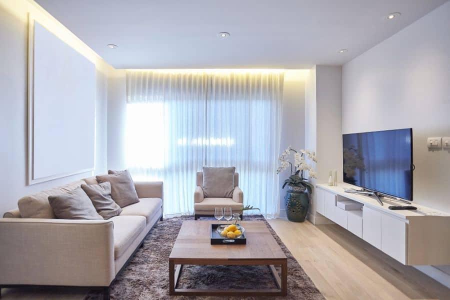 Modern Family Room Ideas 14