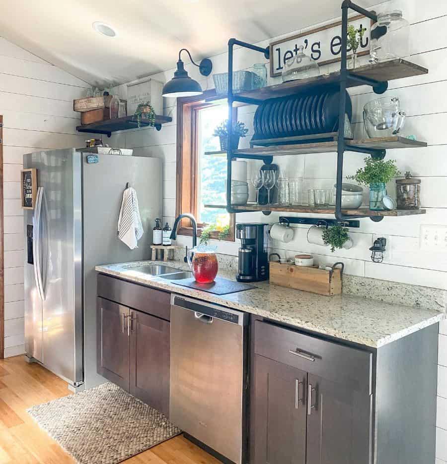 modern farmhouse kitchen ideas shiplapandshenanigans