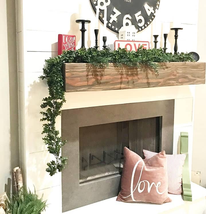 Modern Farmhouse Mantel Decor Afreshcoatyuma
