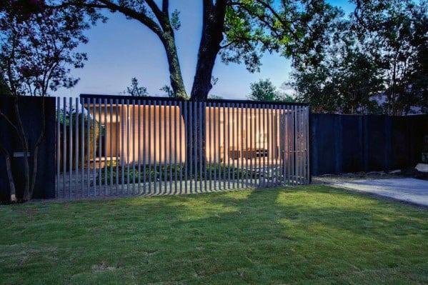 Modern Fence Design Idea Inspiration
