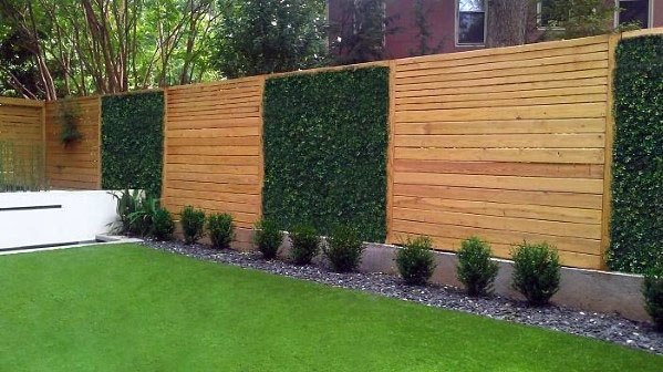 Modern Fence Design Ideas With Plant Covering