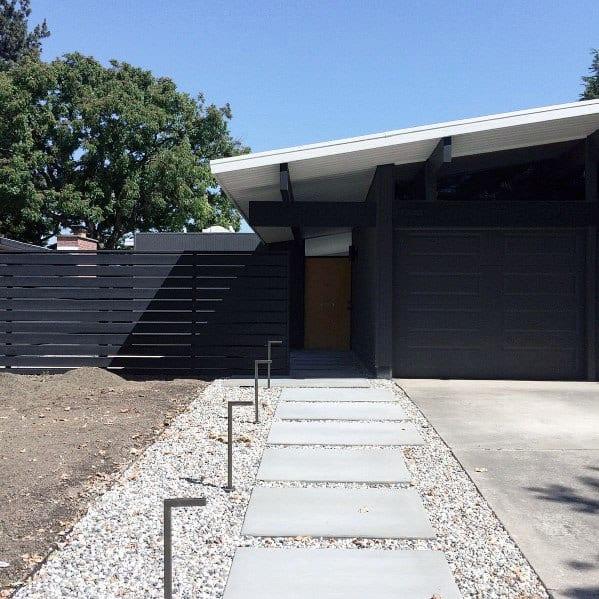 Modern Fence Exterior Design