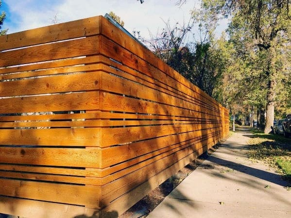 Modern Fence Home Designs
