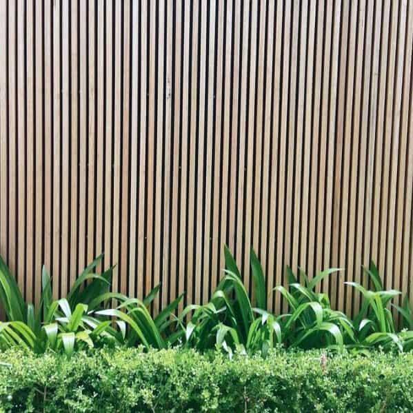 Modern Fence Idea Inspiration