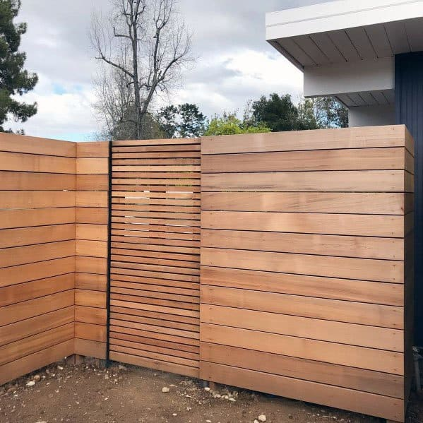 Modern Fence Ideas Inspiration With Wood Gate