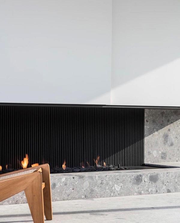 Modern Fireplace Design Decoration