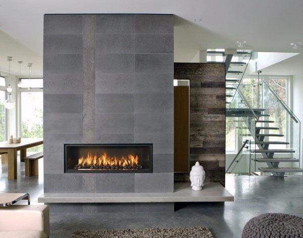 Modern Fireplace Design House
