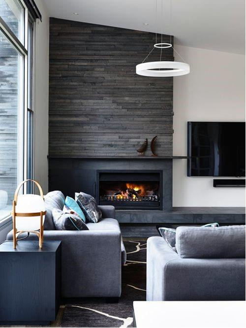 Top 70 Best Modern Fireplace Design Ideas - Luxury Interiors