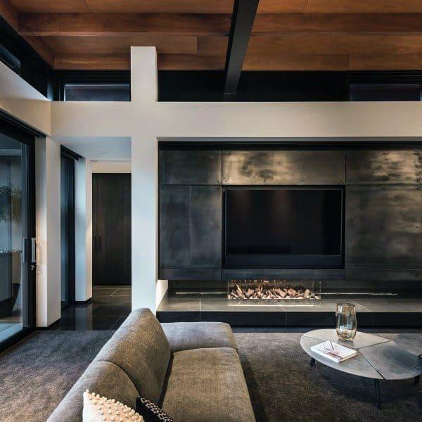 Modern Fireplace Design Living Room Lounge