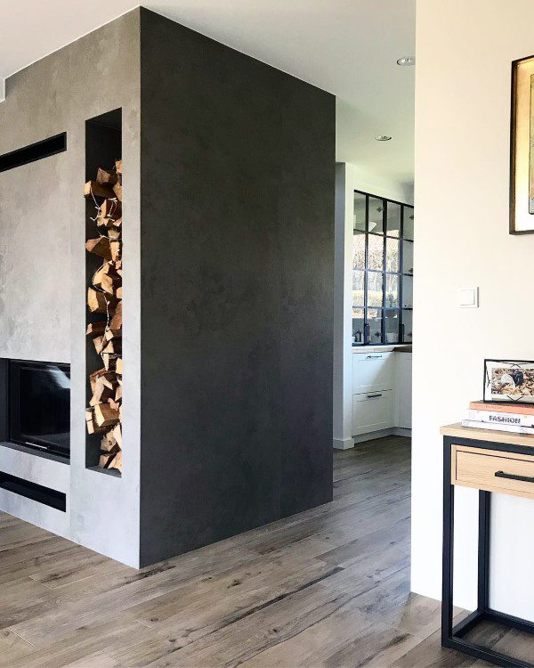 Modern Fireplace Interior Design