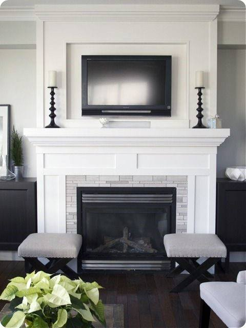 Charmant Modern Fireplace Mantel Designs