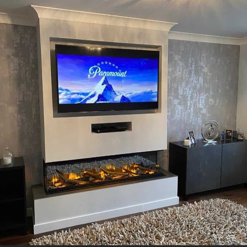 modern fireplace wall ideas homemadehome_22