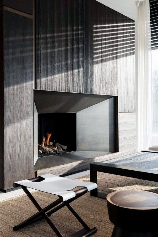 Lovely Modern Fireplaces Design Ideas