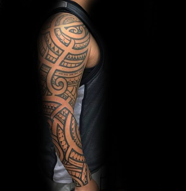 70 filipino tribal tattoo designs for men sacred ink ideas. Black Bedroom Furniture Sets. Home Design Ideas