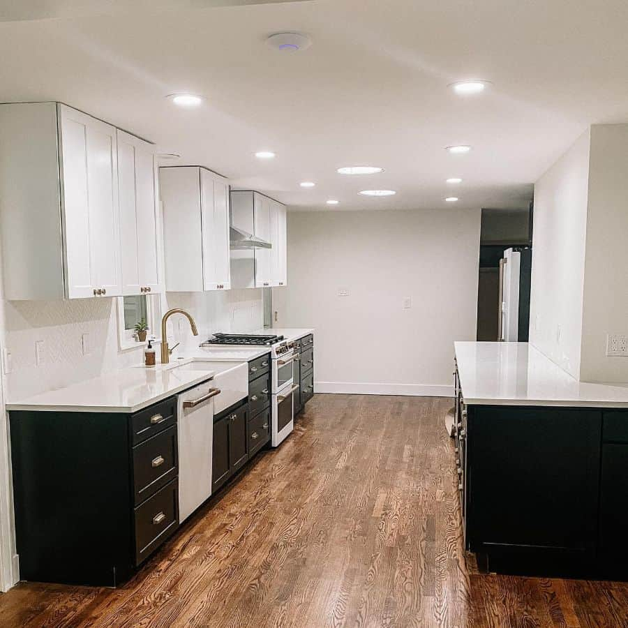 modern galley kitchen ideas our_ranch_reno