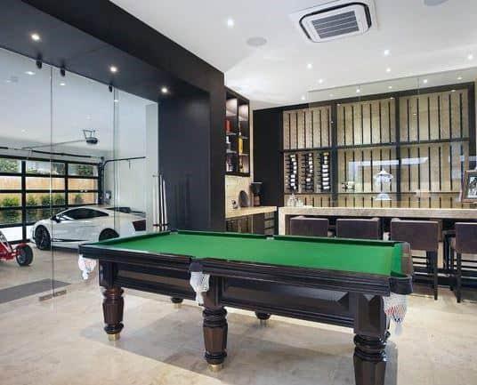 Modern Garage Bar