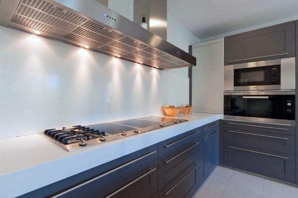 Modern Gloss Grey Kitchen Cabinet Ideas