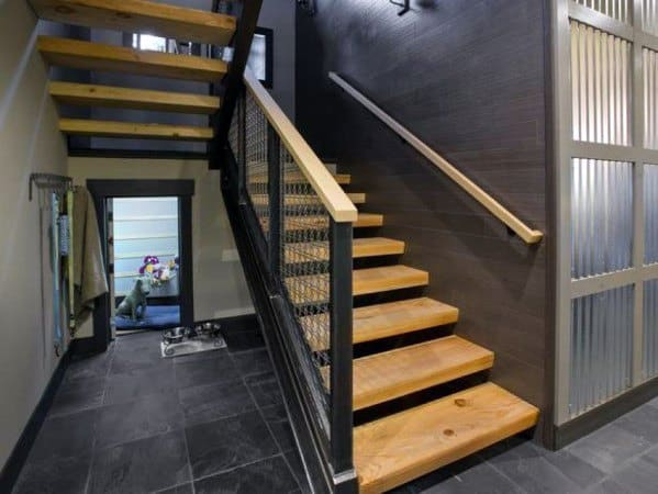 Modern Good Ideas For Basement Stairs