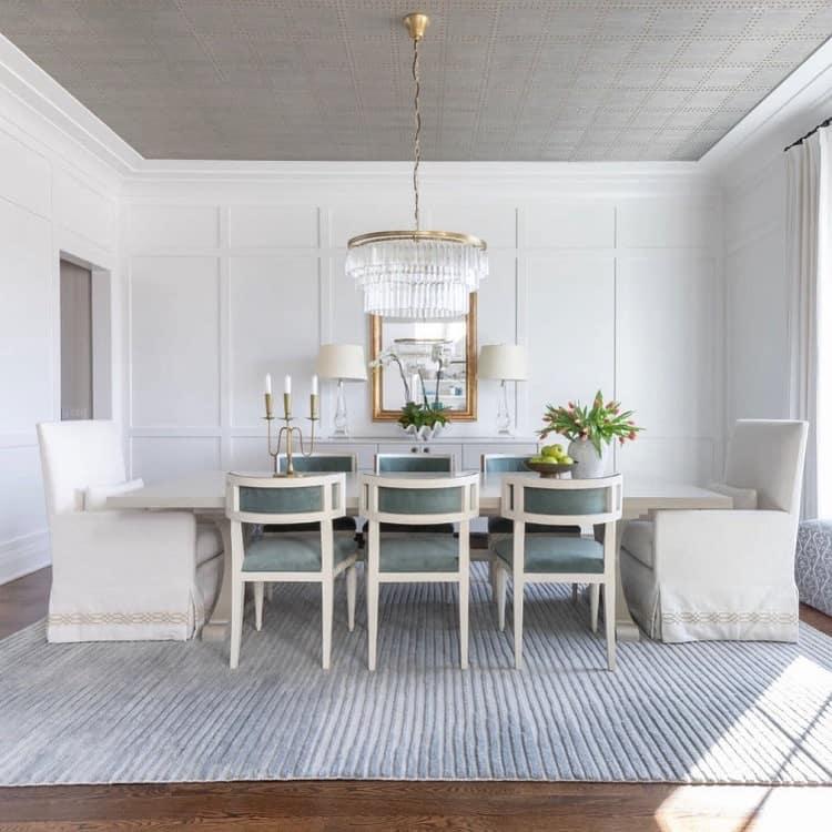 Modern Gray Textured Ceiling Ideas