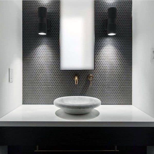 Top 70 Best Bathroom Backsplash Ideas