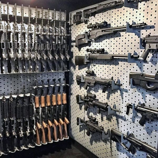 Modern Gun Rooms For Men