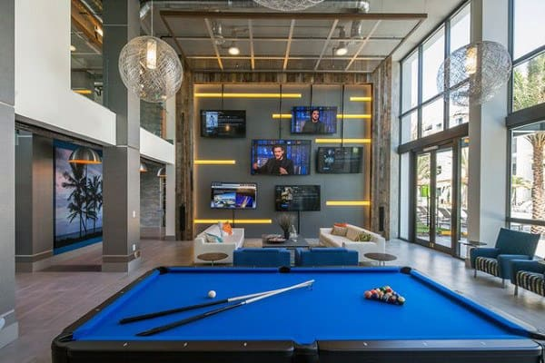 Modern Guys Large Game Room Designs