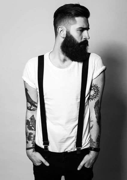 Modern Hairstyle Ideas For Men With Beards