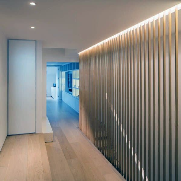 Modern Hallway Lighting Design Idea Inspiration