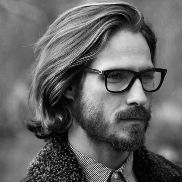 Modern Hipster Mens Hairstyles Long Straight