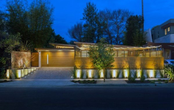 Modern Home Cool Driveway Lighting Design Ideas