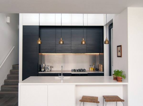 Modern Home Design Ideas Metal Backsplash Stainless