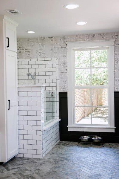 Modern Home Dog Wash Station Ideas