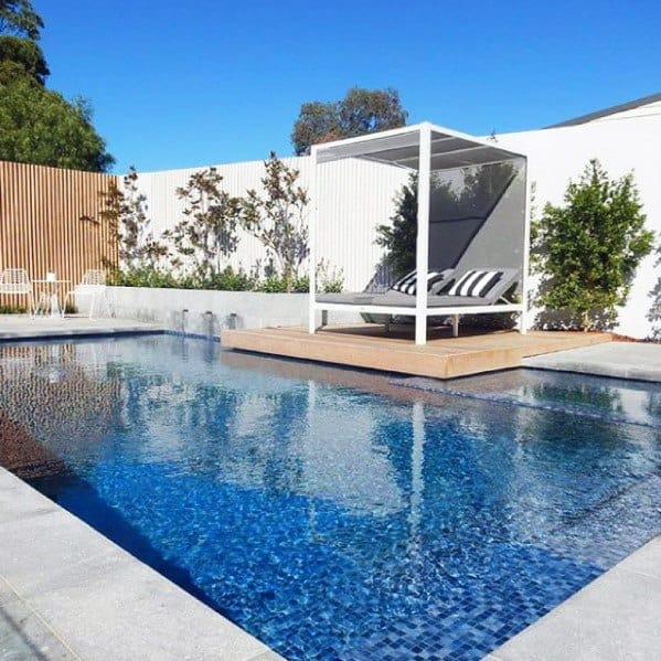 Modern Home Ideas Pool Landscaping