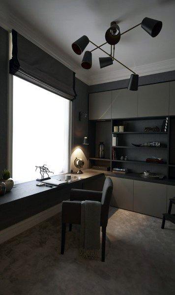 Best Contemporary Home Office Design Ideas Remodel Pictures: Top 70 Best Modern Home Office Design Ideas