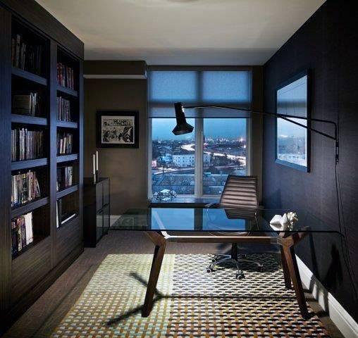 Modern Home Office Design Ideas: Top 70 Best Modern Home Office Design Ideas