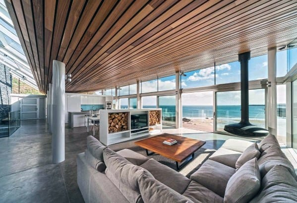 Modern Home Wood Ceiling Ideas