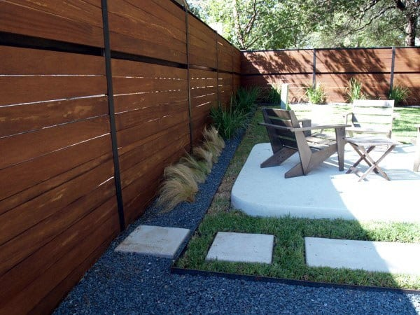 Modern Ideas Backyard Fence Options